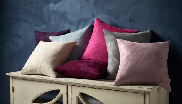 Faux Suede Cushions