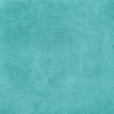 Faux Suede Fabric Turquoise