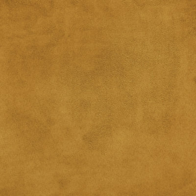 Faux Suede Fabric Mustard