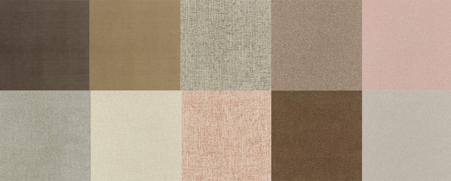 Neutral Fabrics Mix - Tiles