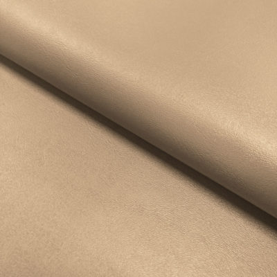 Nevada Faux Leather Fabric Beige