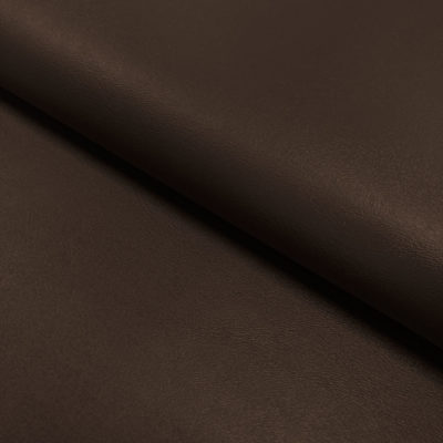 Nevada Faux Leather Fabric Brown
