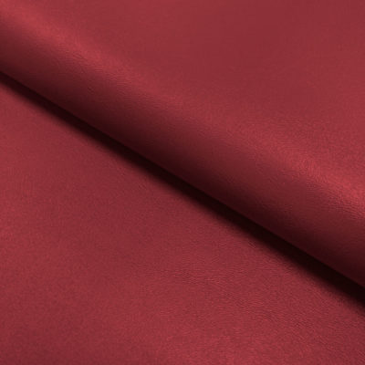 Nevada Faux Leather Fabric Cherry