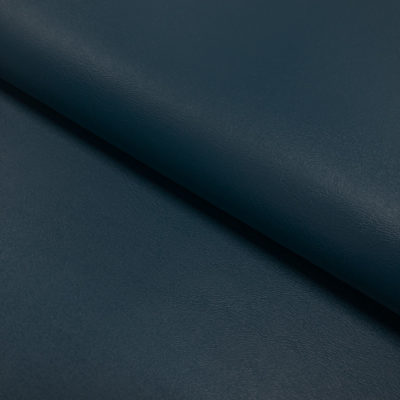 Nevada Faux Leather Fabric Navy