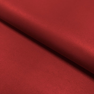 Nevada Faux Leather Fabric Red