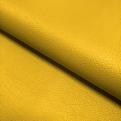 Nevada Faux Leather Fabric Sunflower