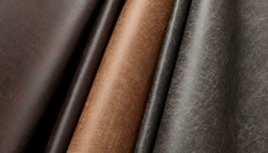 Vintage Faux Leather Fabric, Group